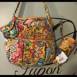 Vera Bradley Provençal diaper bag w accessories